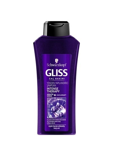 Gliss Glıss Intense Therapy Şampuan 550 Ml Renksiz